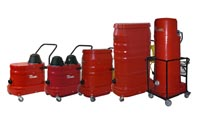 120 & 220 Volt 1 Phase Industrial Vacuums
