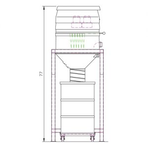 WS 2220 silo Drawing b