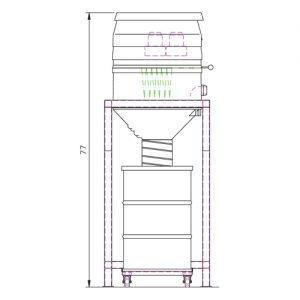 WS 2220 silo Drawing b