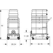 WS2320-PORT-2.6F-4HP-110V-70MM