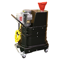 Certified Combustible Dust Vacuums 9 Gal Capacity